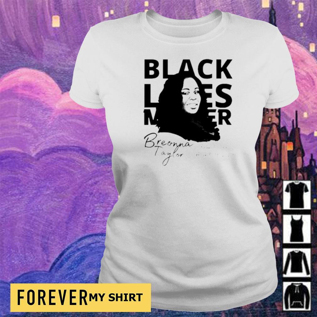 Breonna Taylor black lives matter signature s ladies