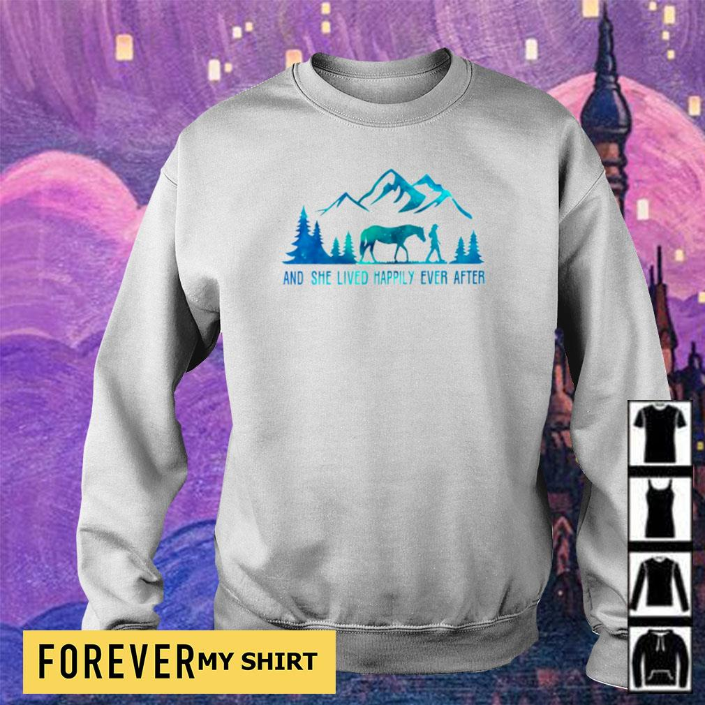 Camping and she lived happily ever after s sweater