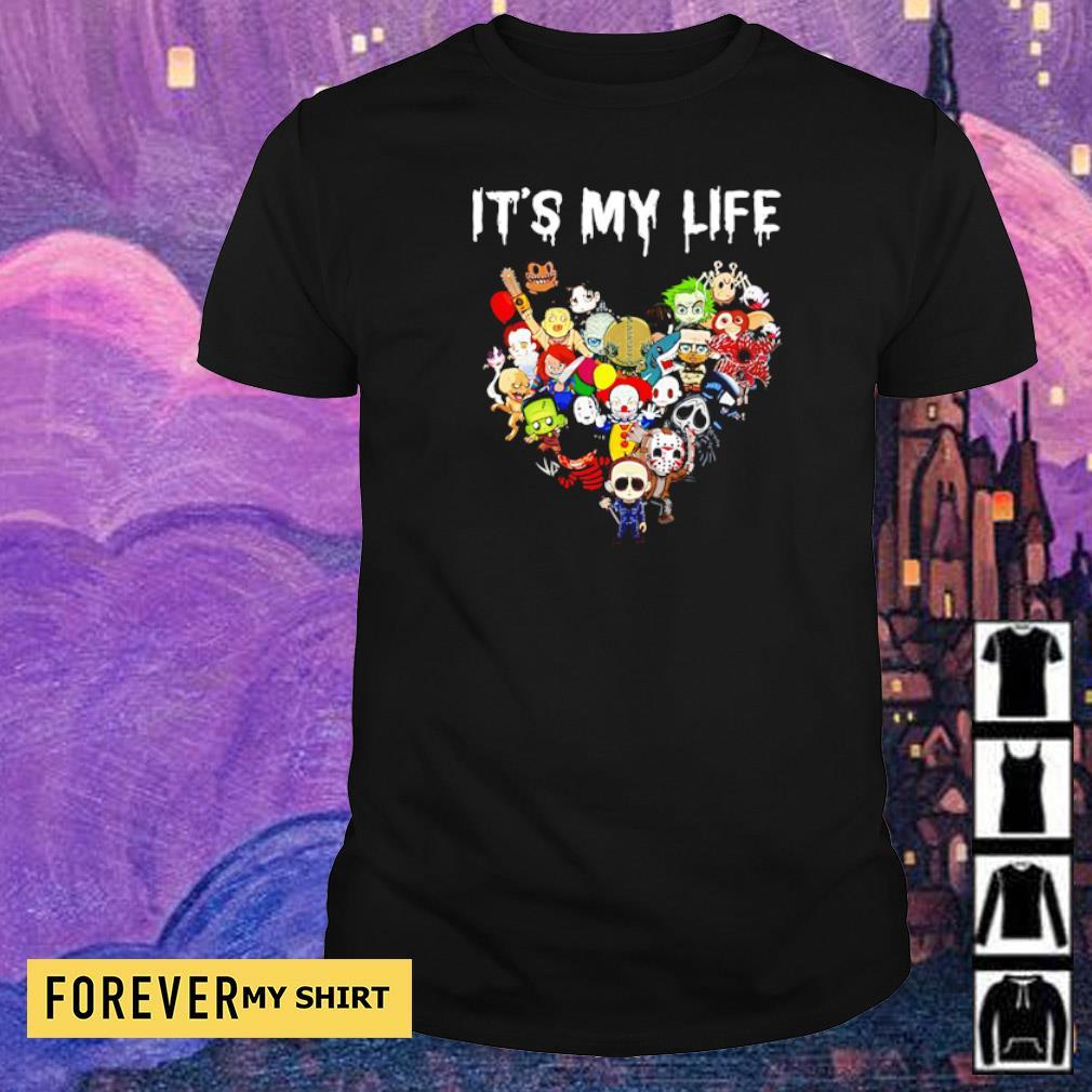 Chibi horror characters it's my life shirt