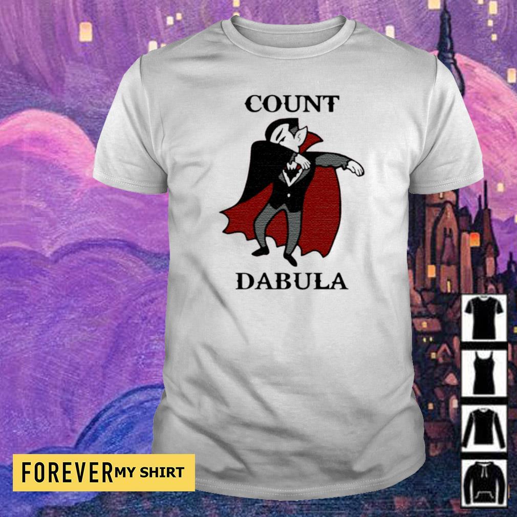 Count dabula happy Halloween shirt