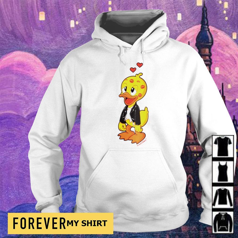 Cute domrebel duck kisses s hoodie