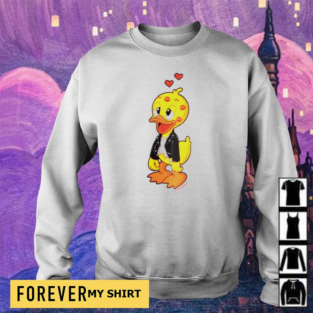 Cute domrebel duck kisses s sweater