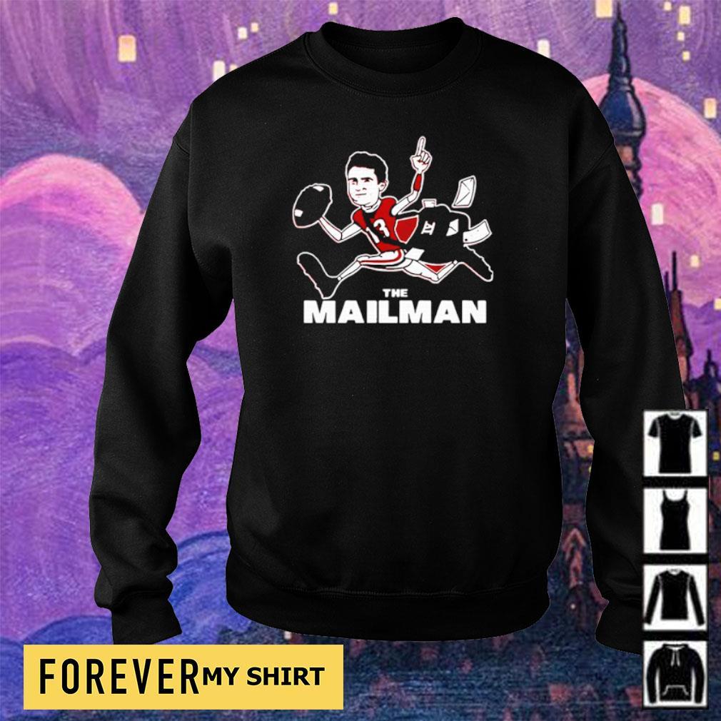 Football the mailman 13 s sweater