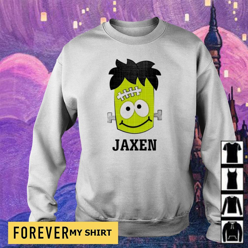 Frankenstein jaxen happy Halloween s sweater