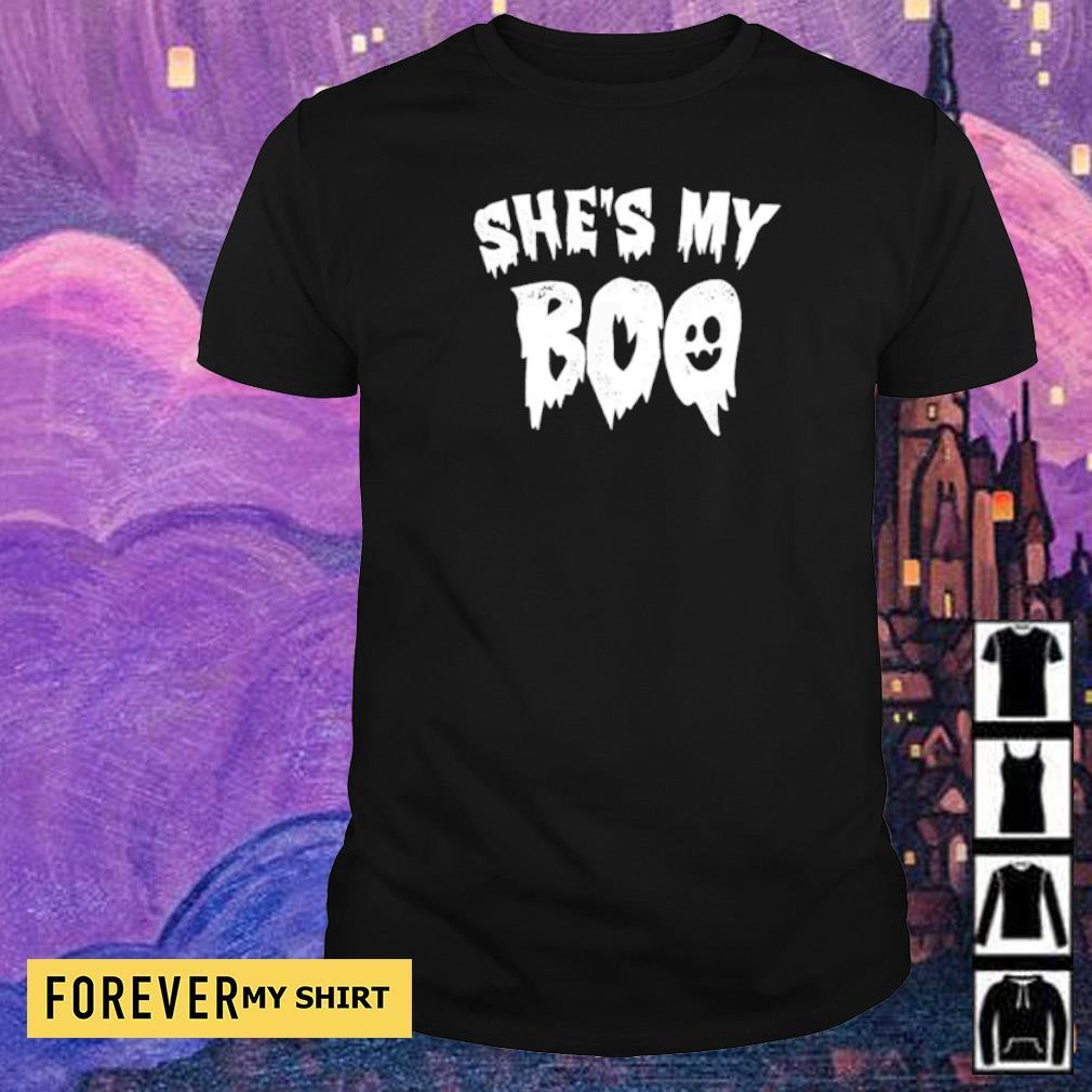 Ghost she's my boo happy Halloween shirt