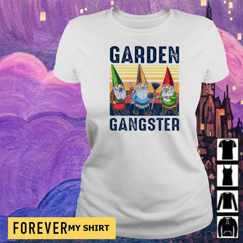 Gnomes garden gangster vintage s ladies
