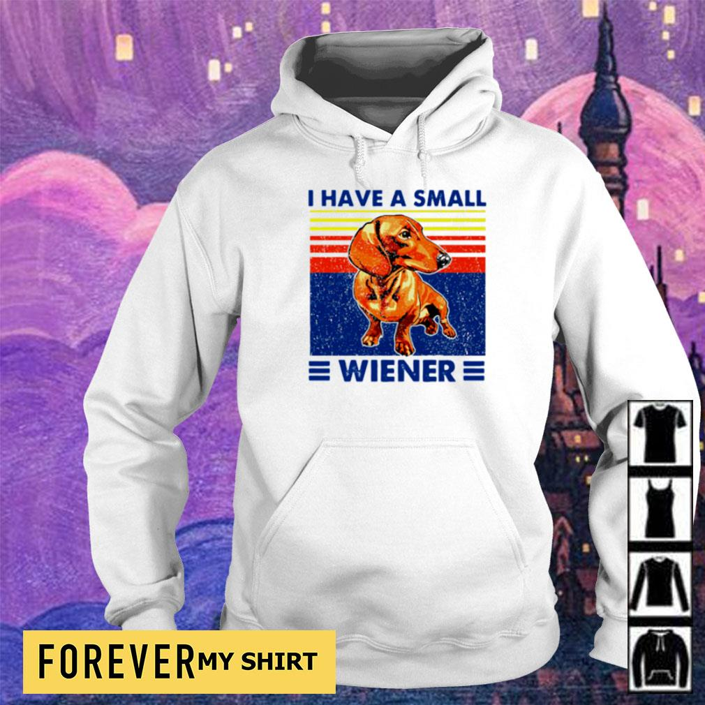 I have a small Wiener vintage s hoodie