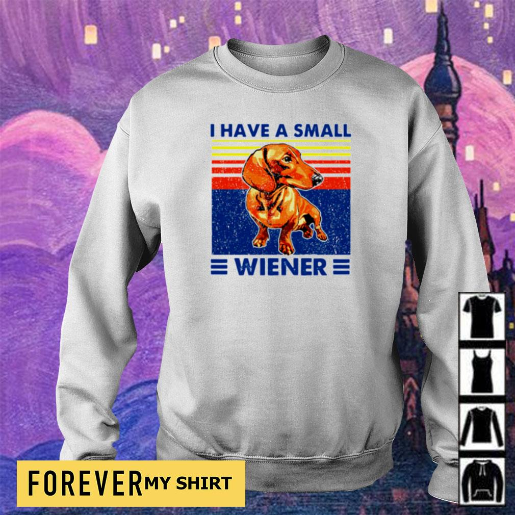 I have a small Wiener vintage s sweater