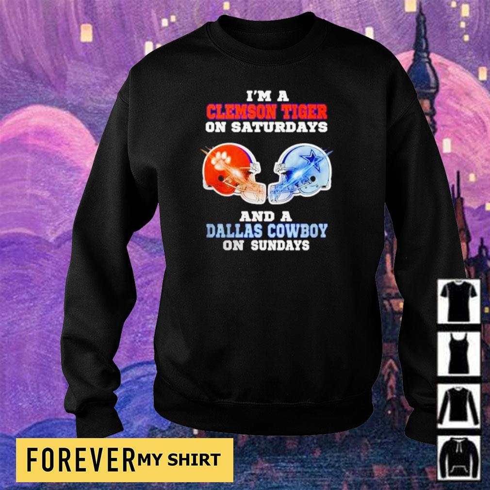 I'm a Clemson Tiger on saturdays and a Dallas Cowboy on sundays s sweater