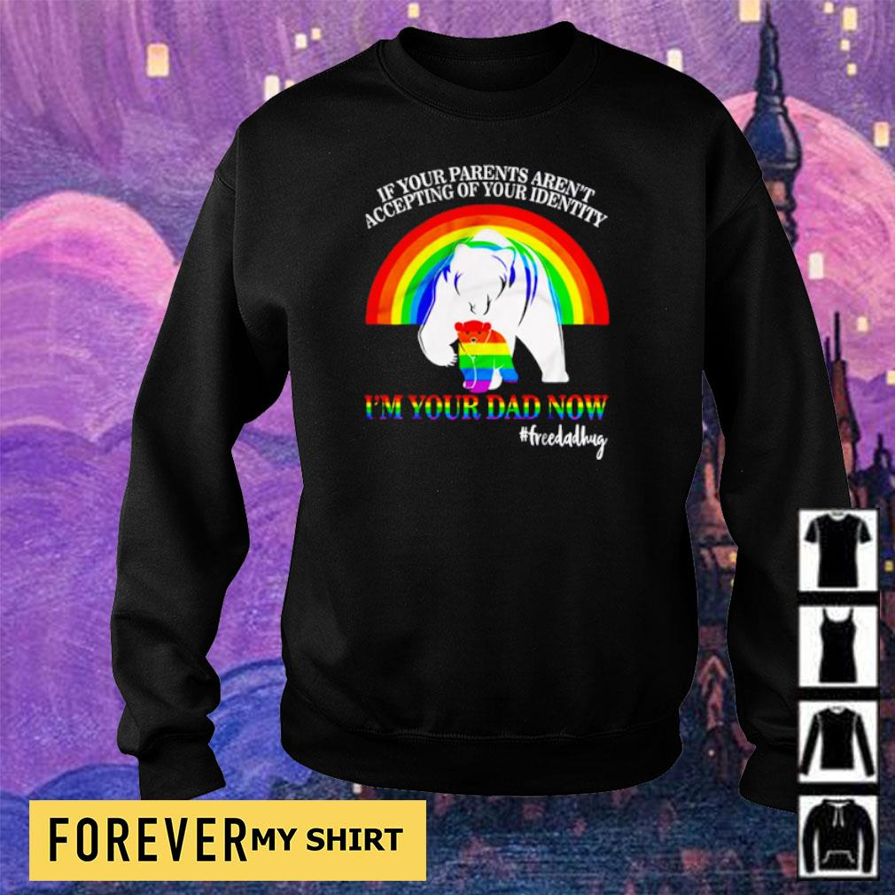If your parent aren't accepting of your identity I'm your dad now s sweater