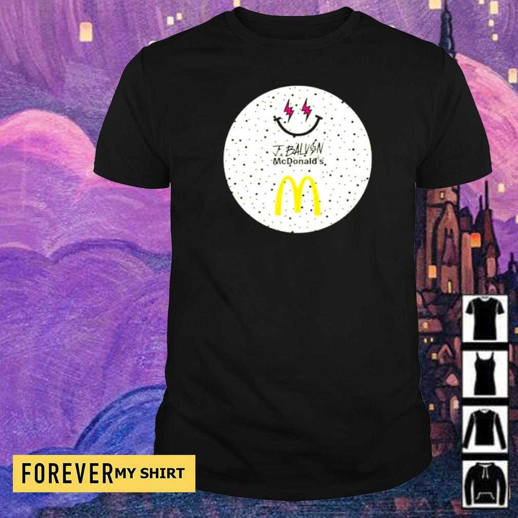 Jbalvin JBalvin x McDonald's ice cream shirt