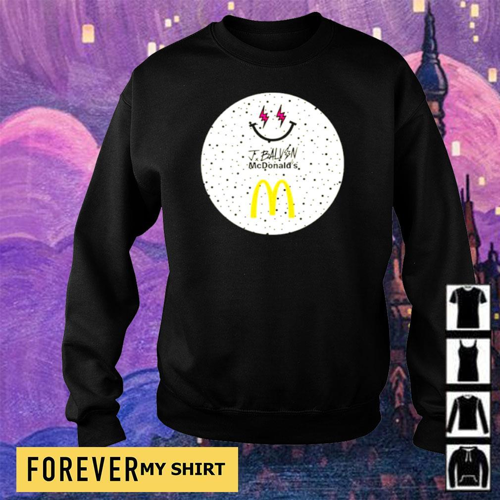 Jbalvin JBalvin x McDonald's ice cream s sweater