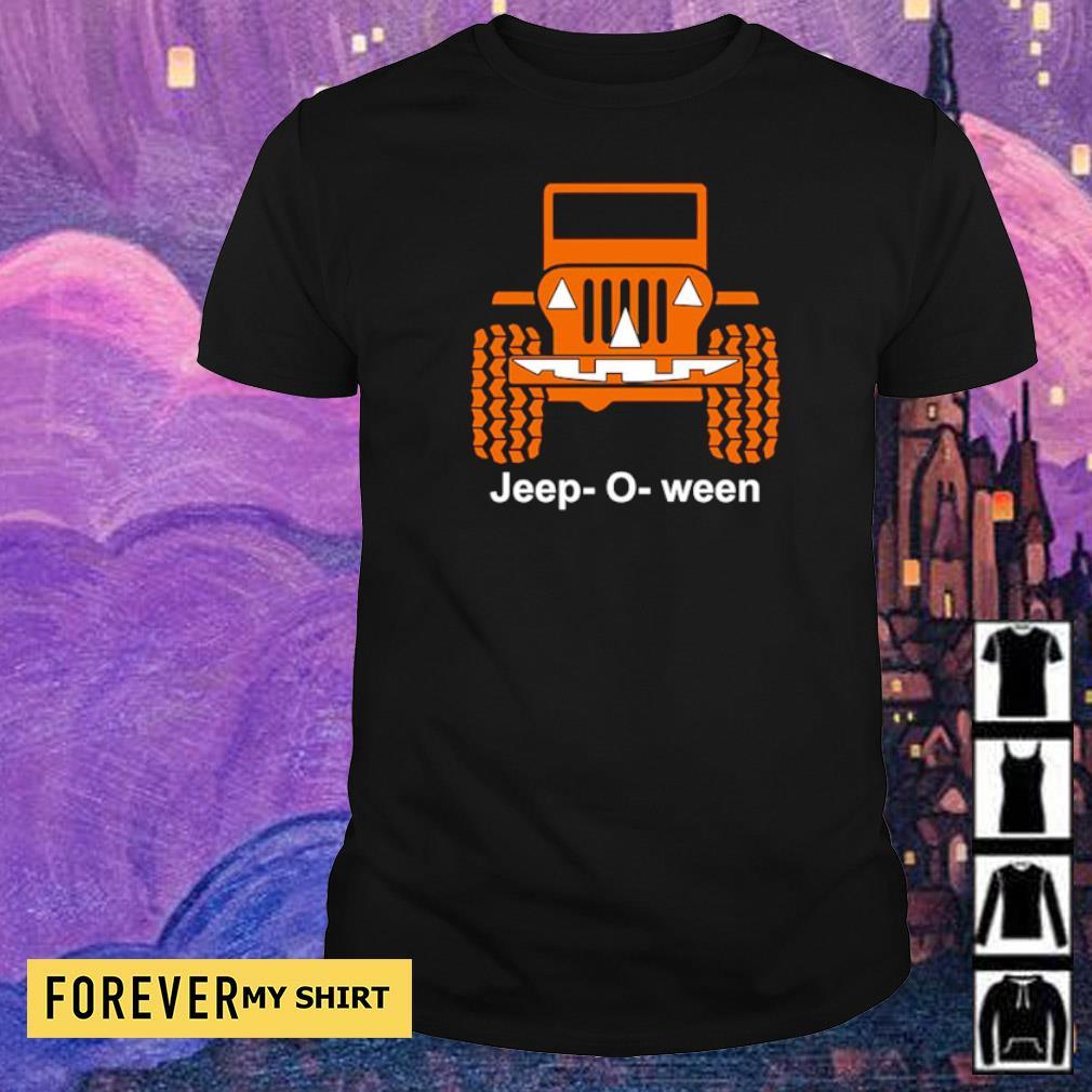 Jeep o ween pumpkin happy Halloween shirt