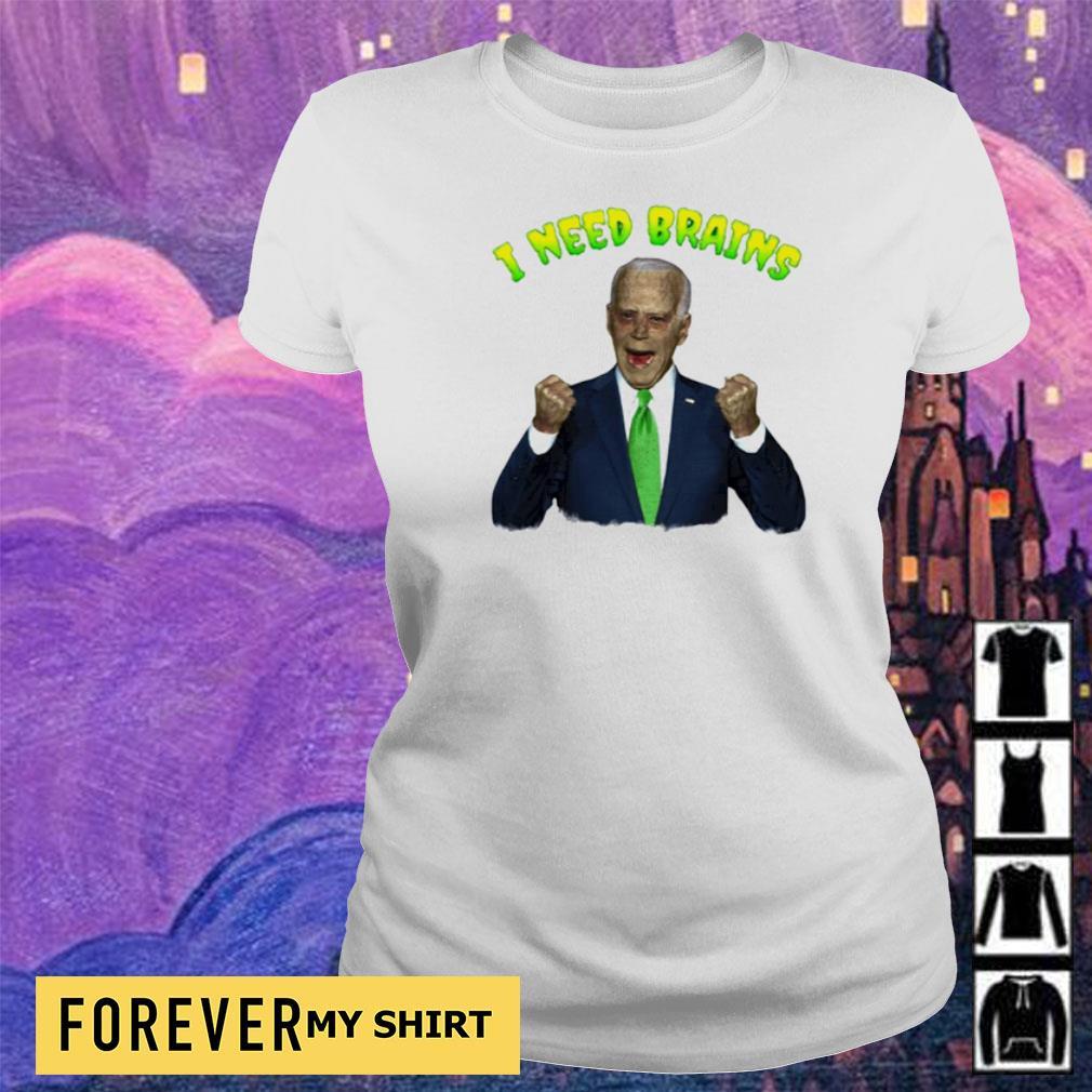 Joe Biden zombie I need brains s ladies
