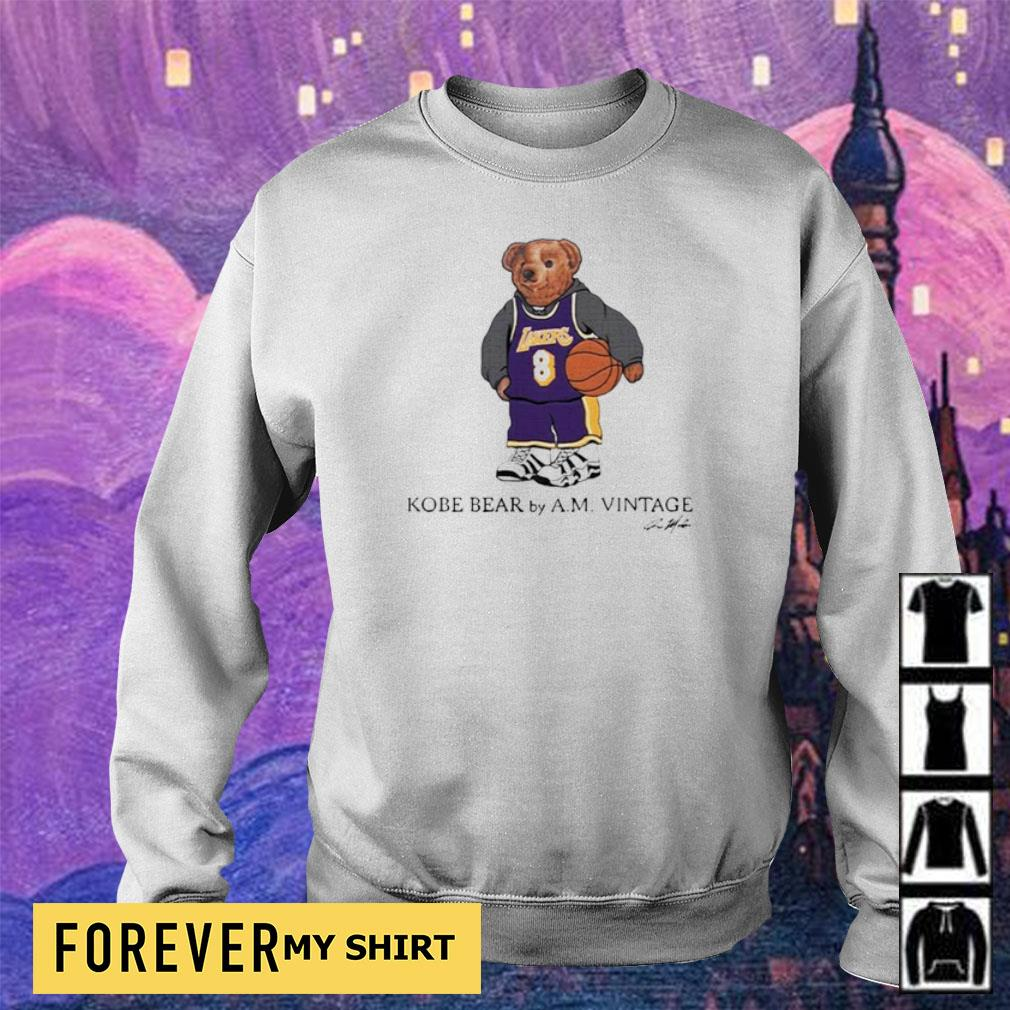 Kobe Bear by AM vintage signature s sweater