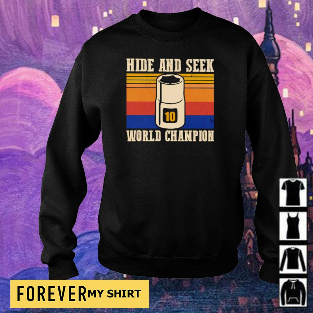 Mechanic hide and seek world champion s sweater