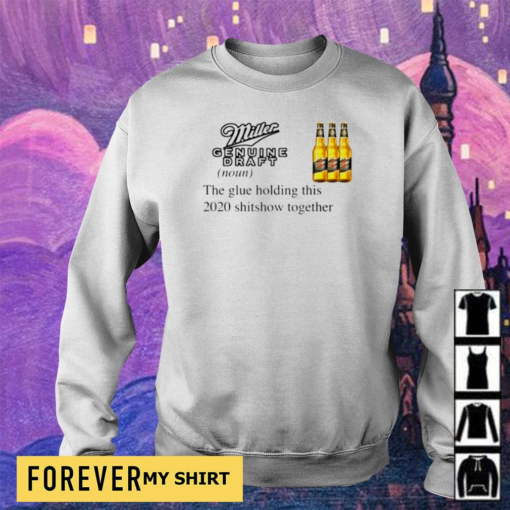 Miller Genuine Draft the glue holding this 2020 shitshow together s sweater