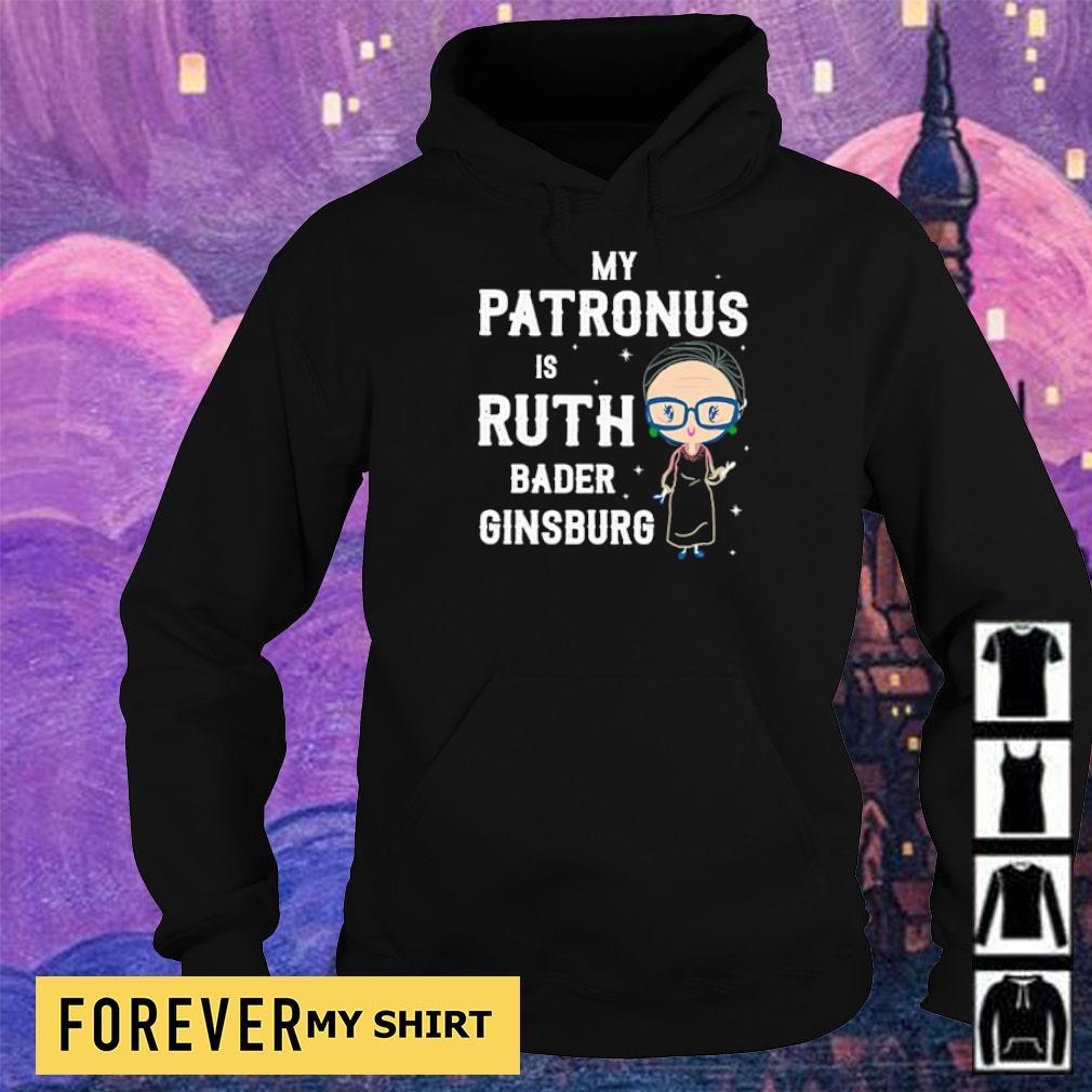 My patronus is Ruth Bader Ginsburg s hoodie