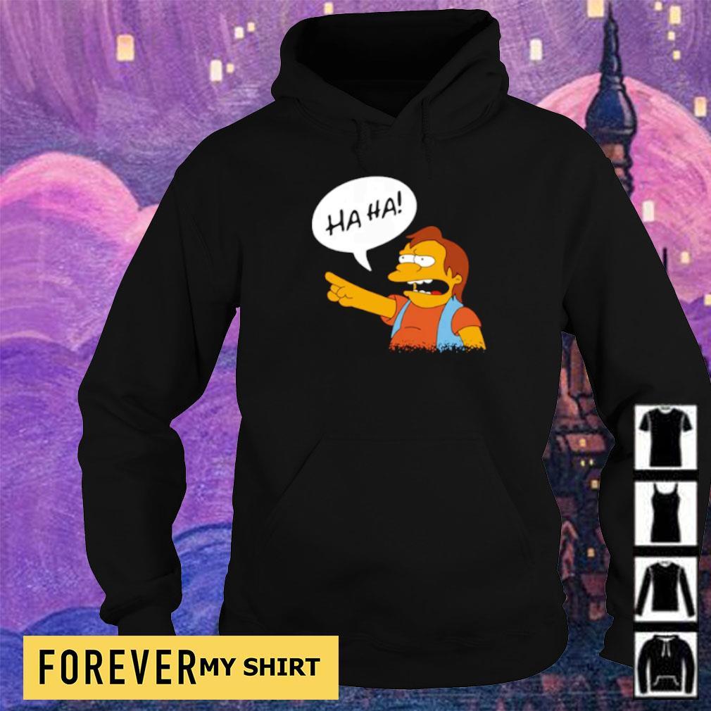 Nelson Muntz from The Simpsons ha ha s hoodie
