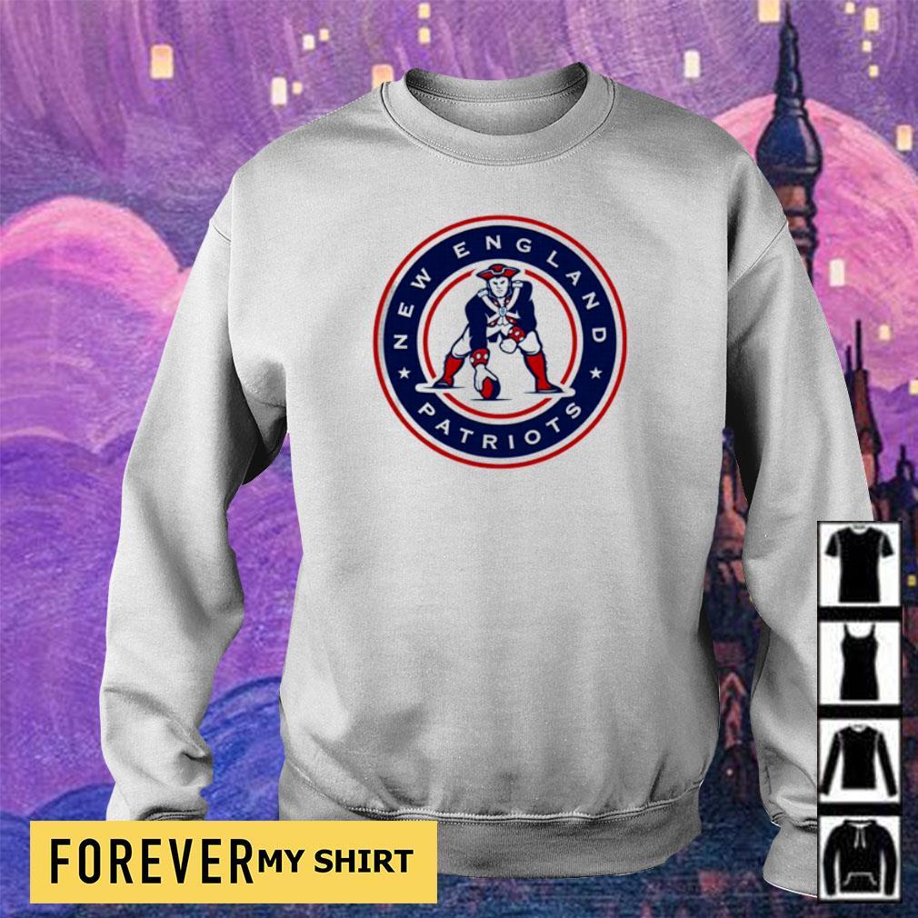 New England Patriots baseball throwback s sweater