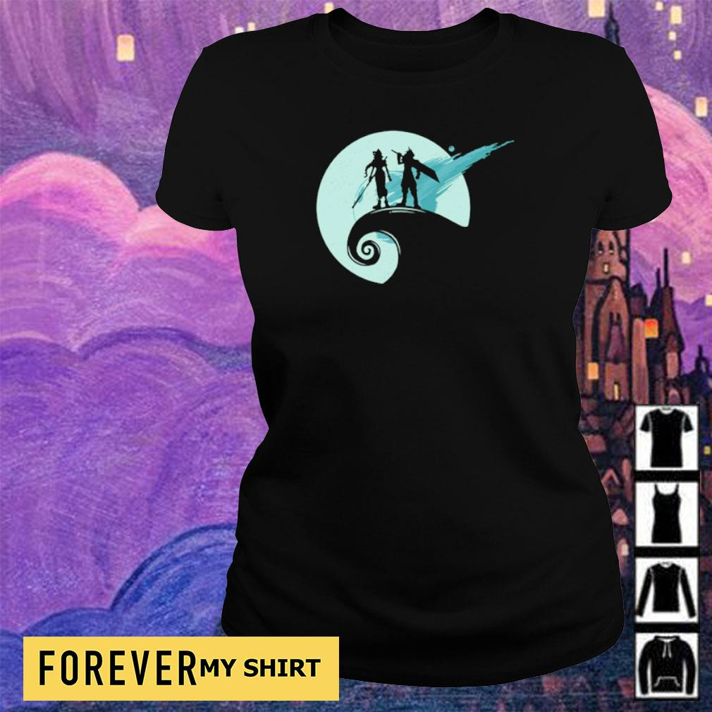 Nightmare before fantasy s ladies tee