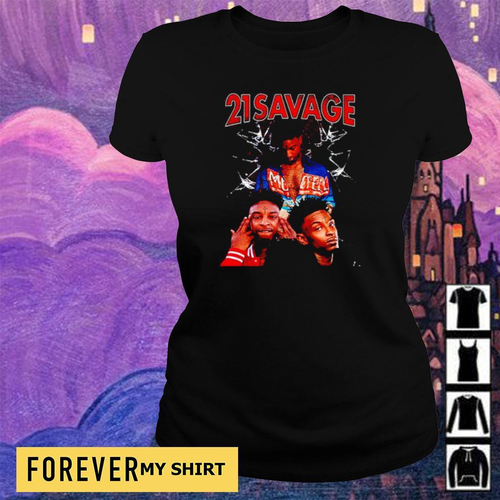 Official 21 Savage s ladies tee
