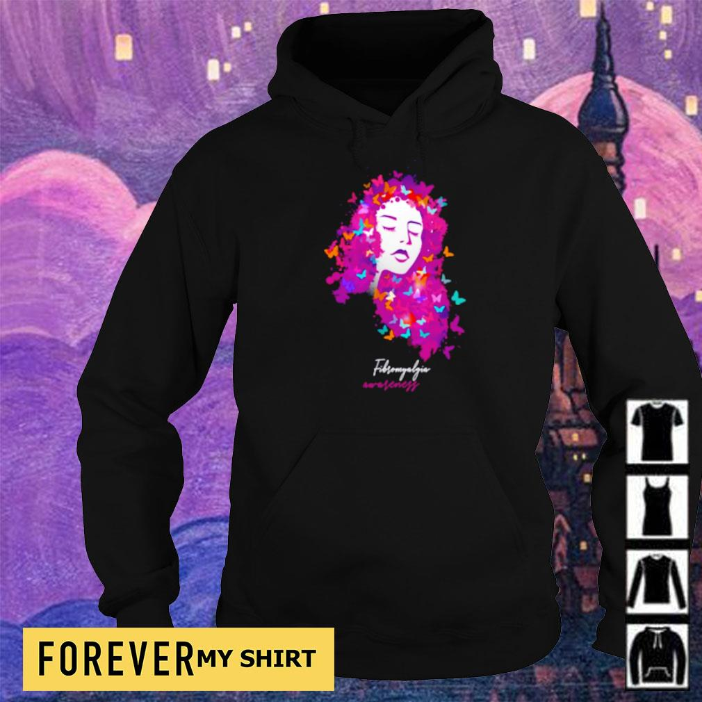 Official butterfly fibro awareness s hoodie