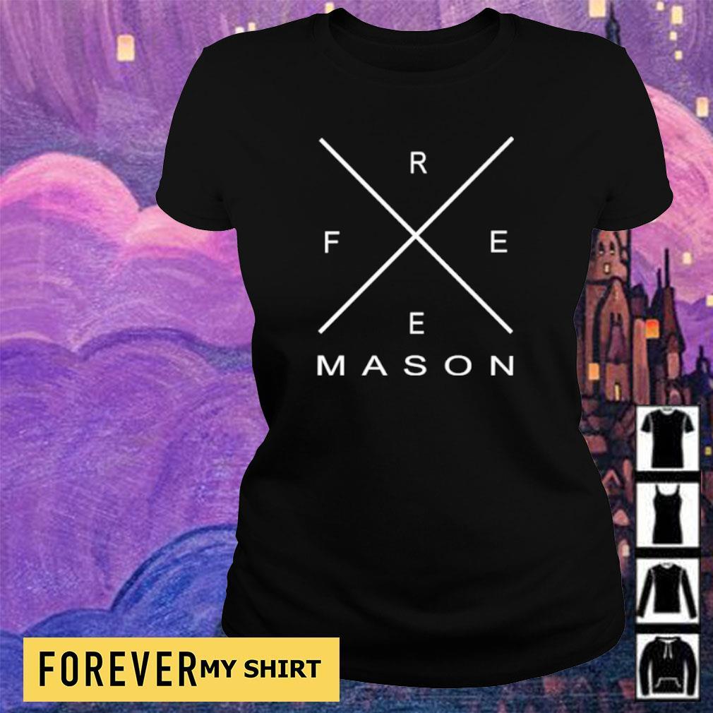 Official freemason s ladies tee
