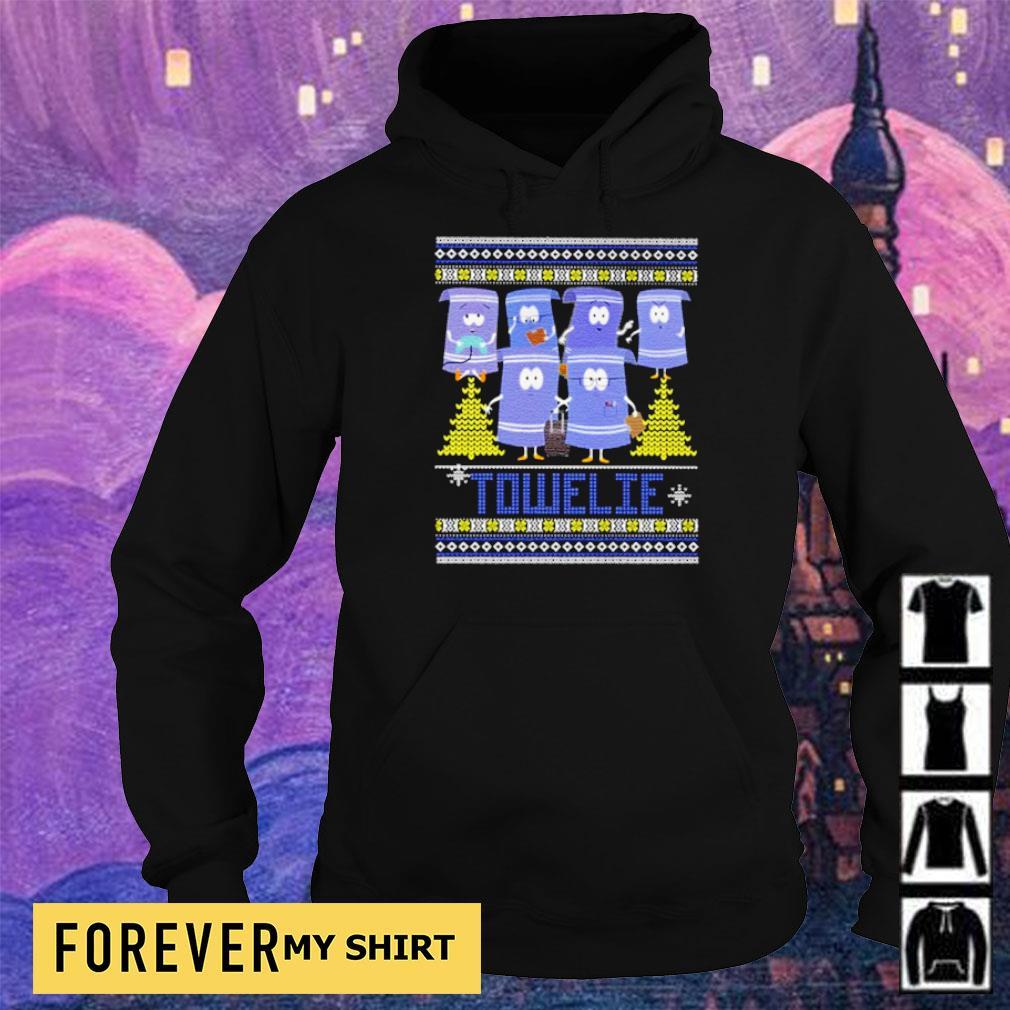 Official towelie merry Christmas s hoodie