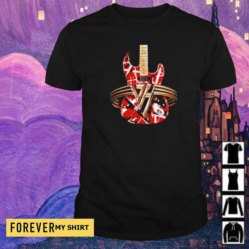 RIP Van Halen guitar concert shirt
