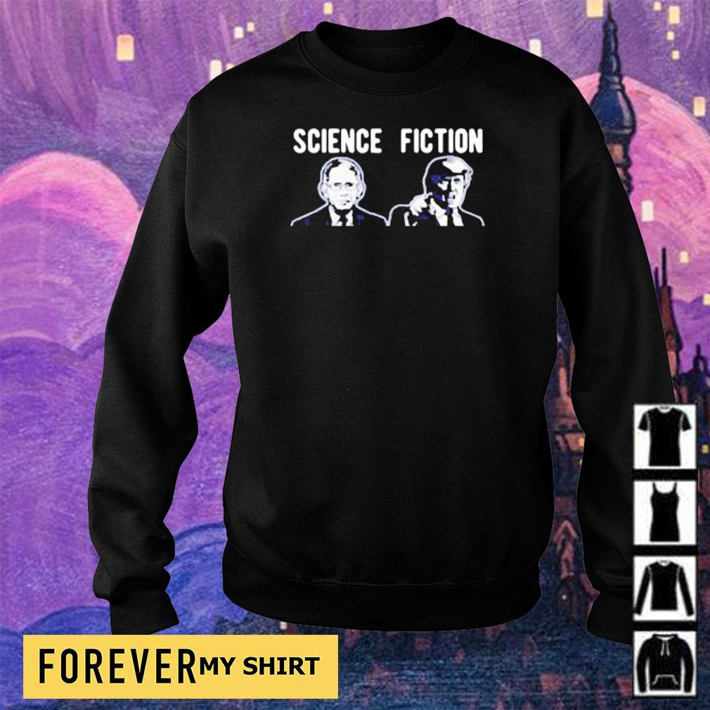 Science fiction Fauci vs Donlad Trump s sweater