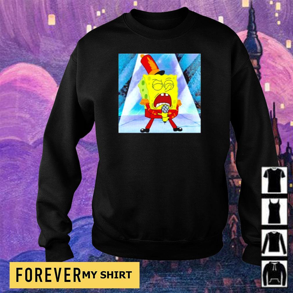 SpongeBob SquarePants singing s sweater