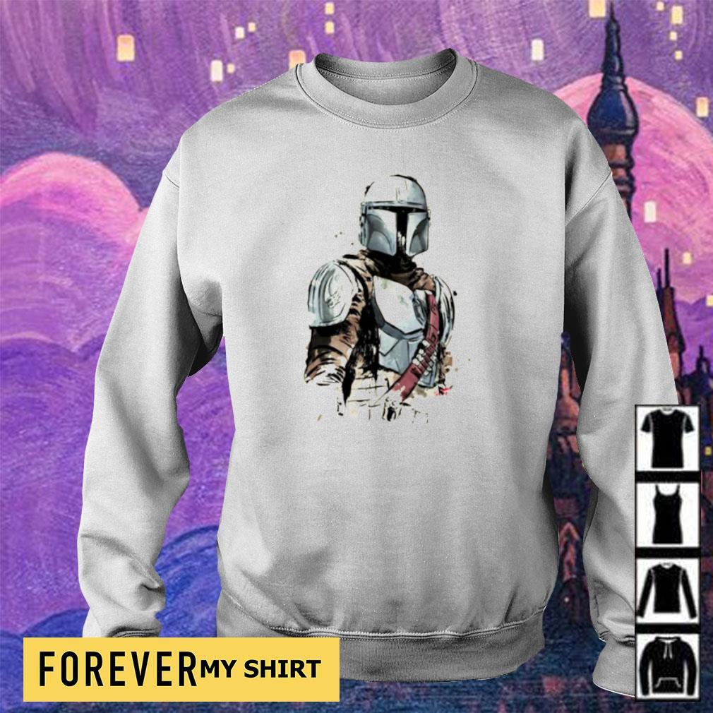 Star Wars The Mandalorian art s sweater