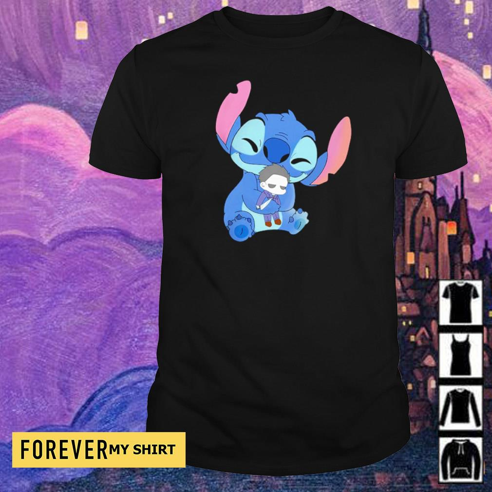 Stitch hug baby Michael Myers shirt