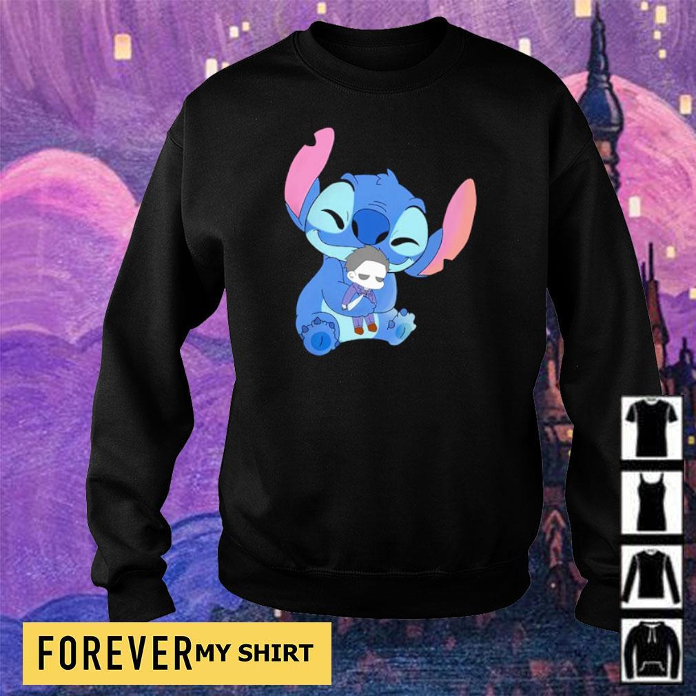 Stitch hug baby Michael Myers s sweater