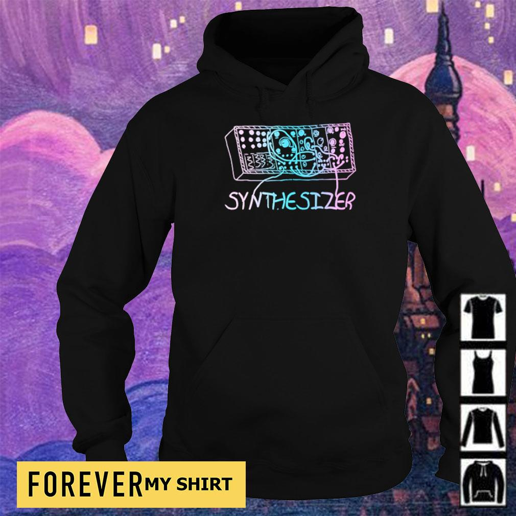 Synthesizer modular drawing s hoodie