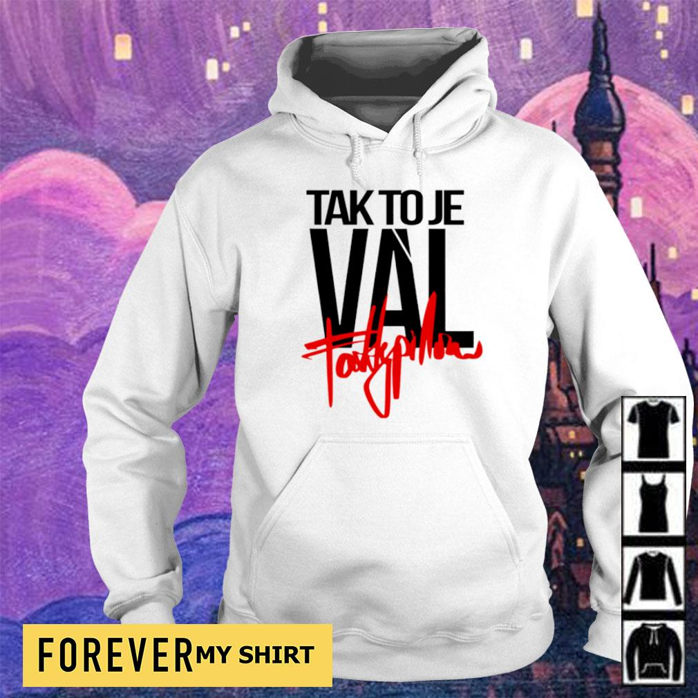 Talk to Je Val fattypillow s hoodie