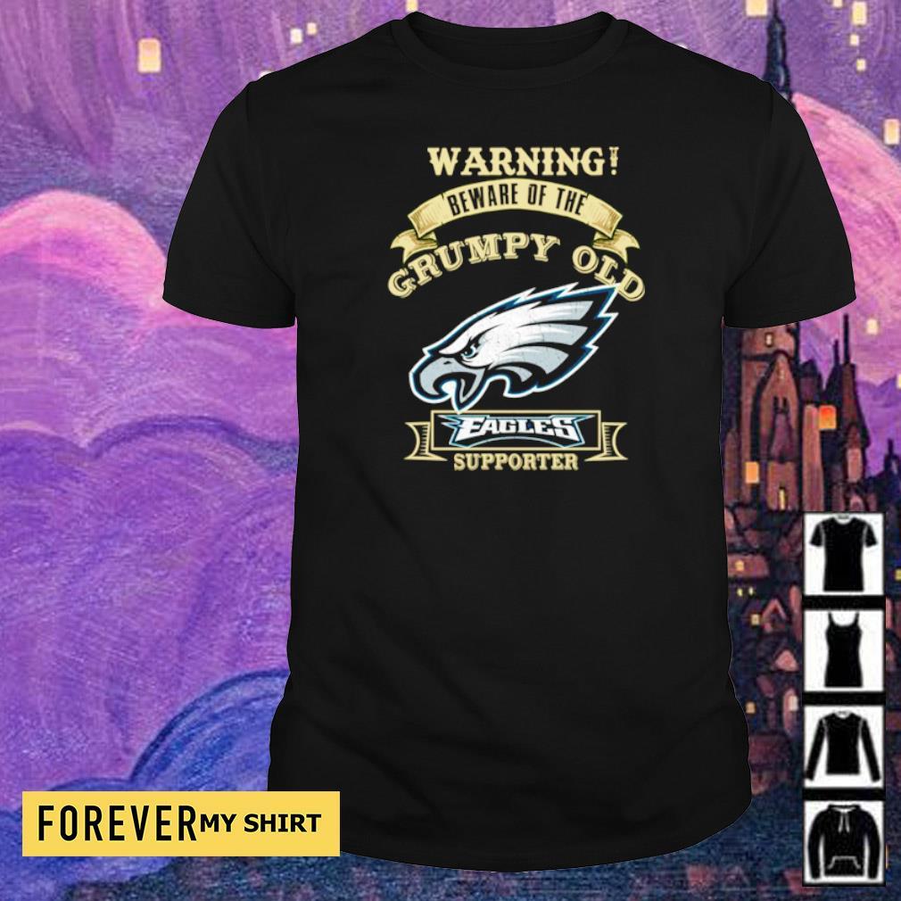 Warning beware of old Philadelphia Eagles supporter shirt
