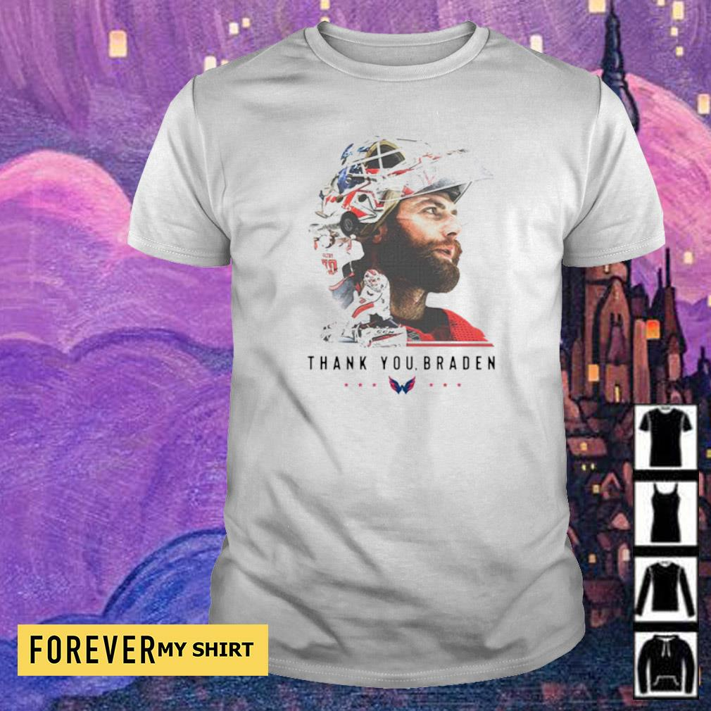 Washington Capitals thank you Braden Holtby shirt