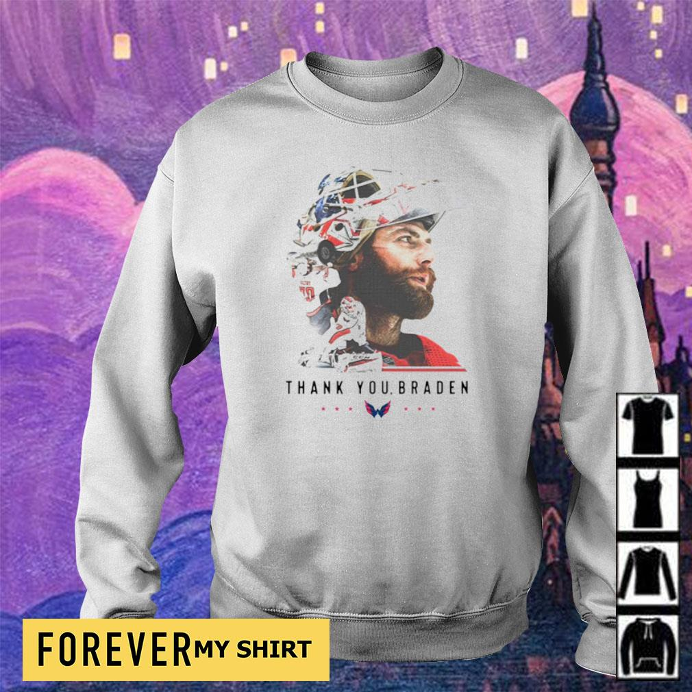 Washington Capitals thank you Braden Holtby s sweater