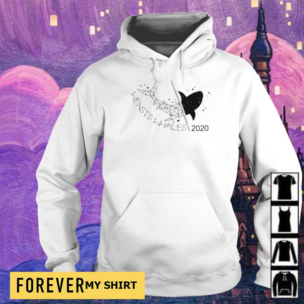 Wensts whales class shark 2020 s hoodie