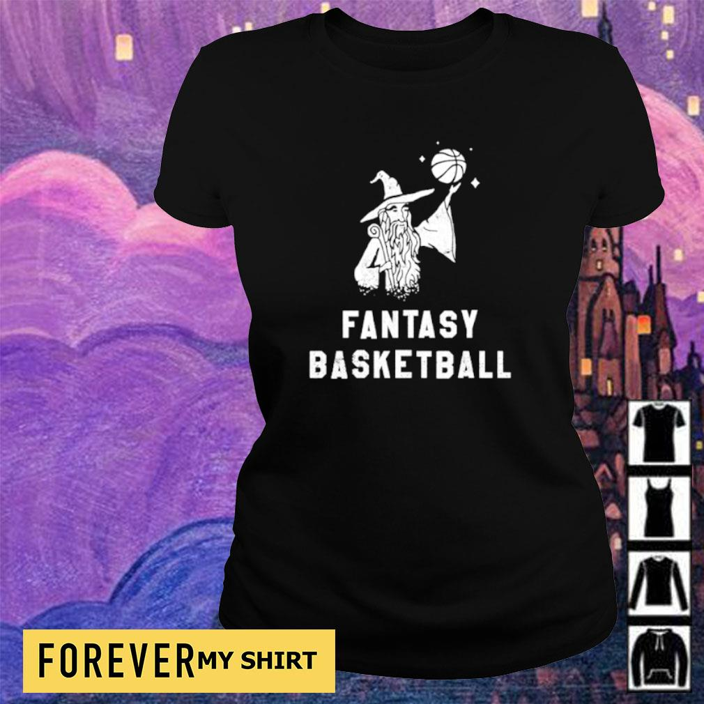 Witch fantasy basketball s ladies tee