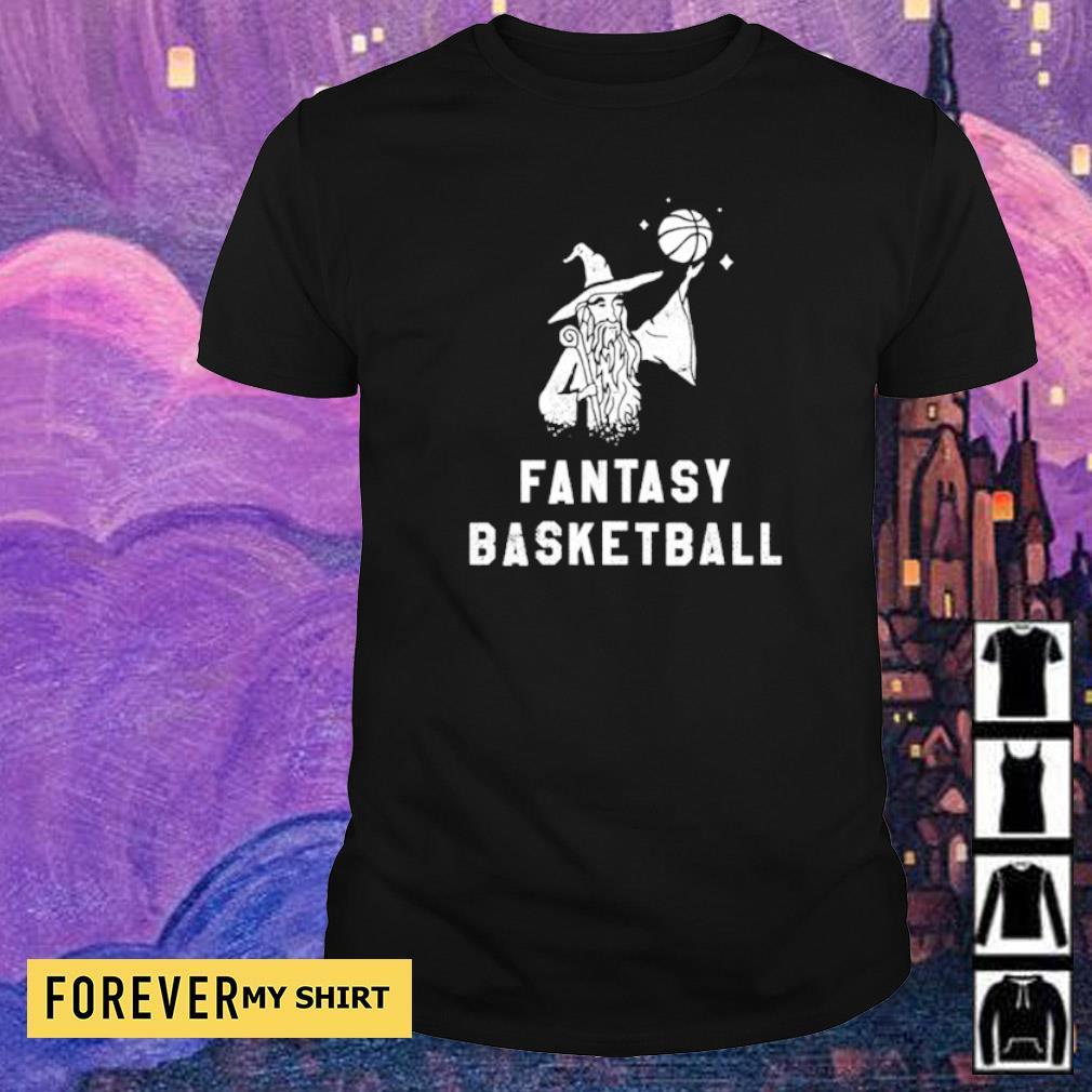 Witch fantasy basketball shirt