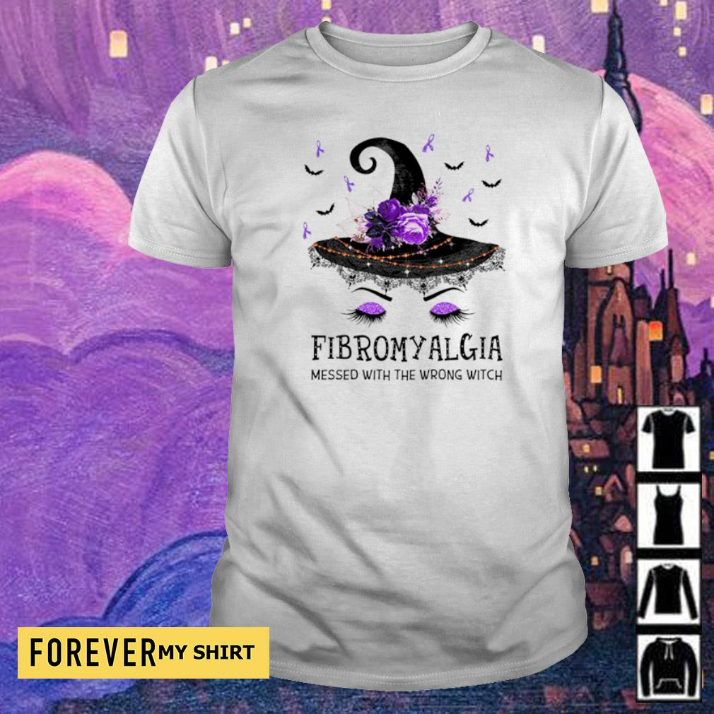 Witch fibromyalgia messed with the wrong witch shirt