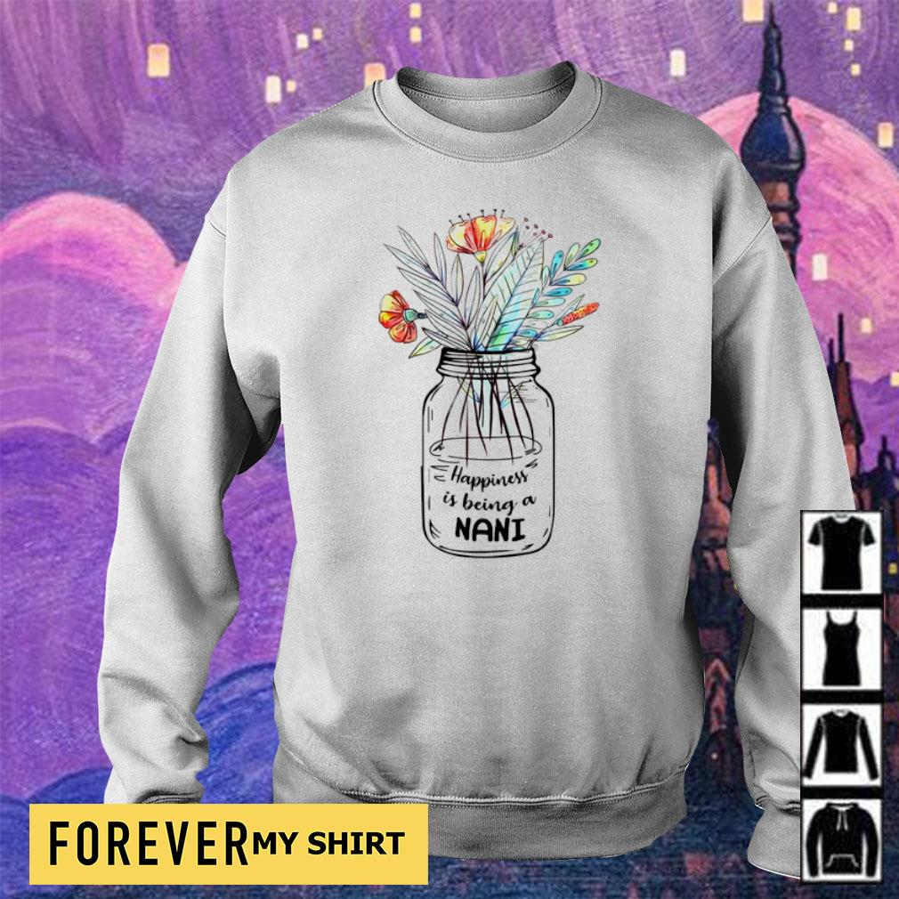 Woman happiness is being a nani s sweater