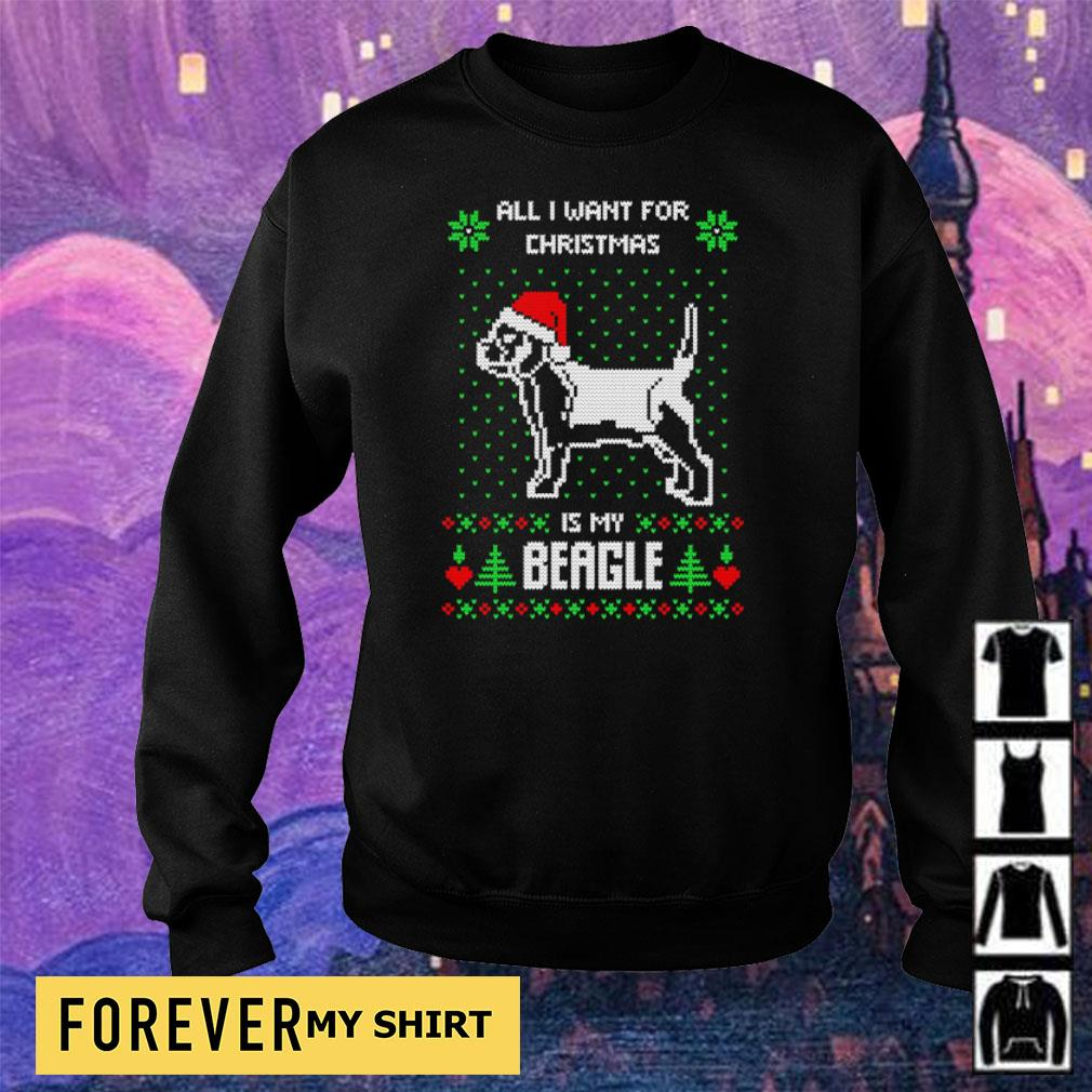 All I want for Christmas is my Beagle sweater sweater
