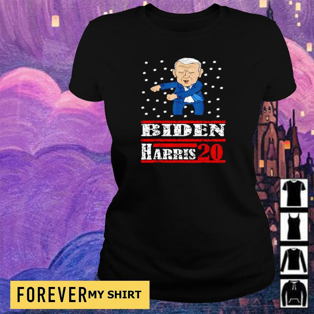 Biden and Harris 20 merry Christmas sweater ladies tee