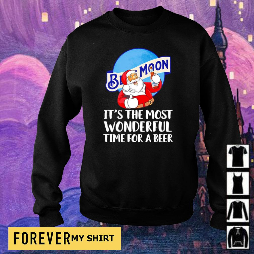 Blue Moon Beer it's the most wonderful time for a beer s sweater