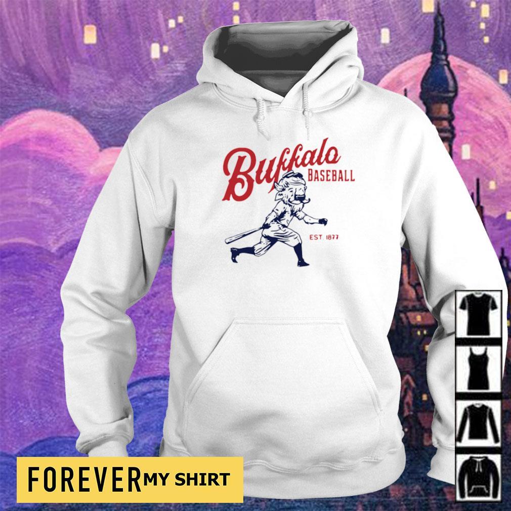 Buffalo Baseball est 1877 vintage s hoodie