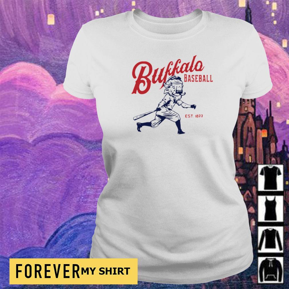 Buffalo Baseball est 1877 vintage s ladies